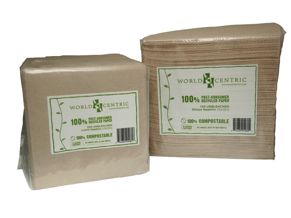 Compostable Products Compostable Napkins World Centric