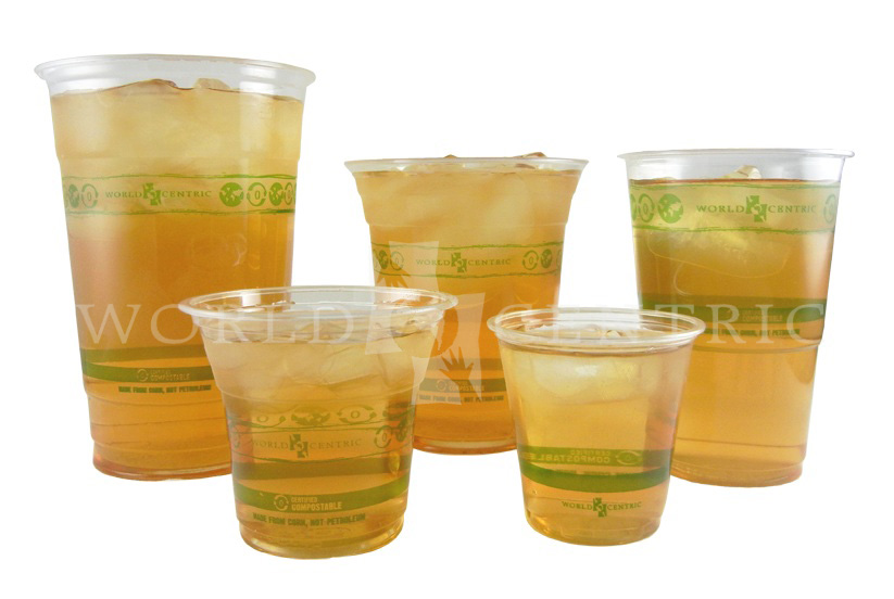 Biocompostables Biodegradable Ingeo Cold Cups And Lids