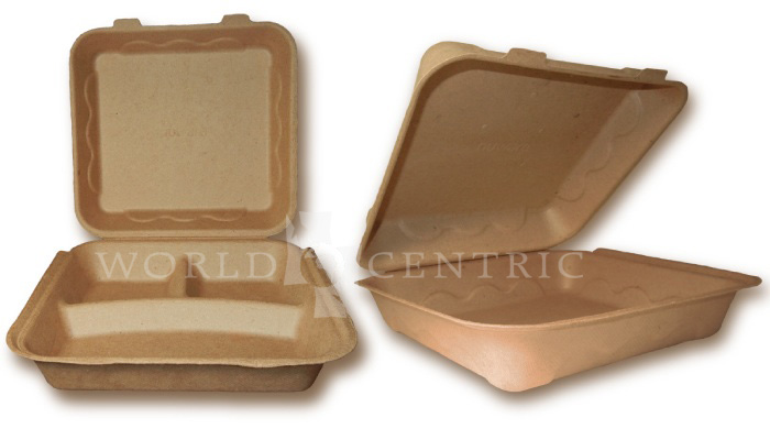 Recycled Paper Take Out Containers  sc 1 st  World Centric : are paper plates compostable - pezcame.com